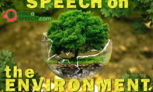 Speech on Environment
