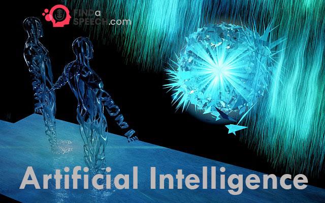 Speech on Artificial intelligence