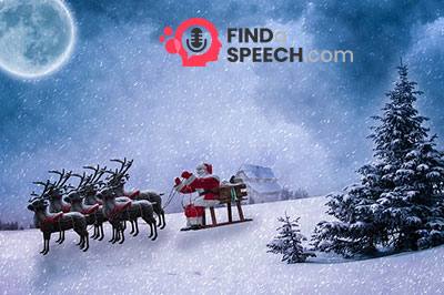 Speeches about Christmas