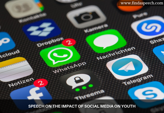 Speech on the impact of social media on youth
