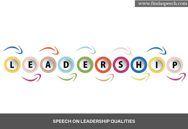 speech on Leadership Qualities