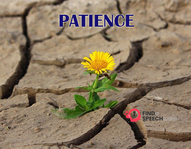 Speech on Patience