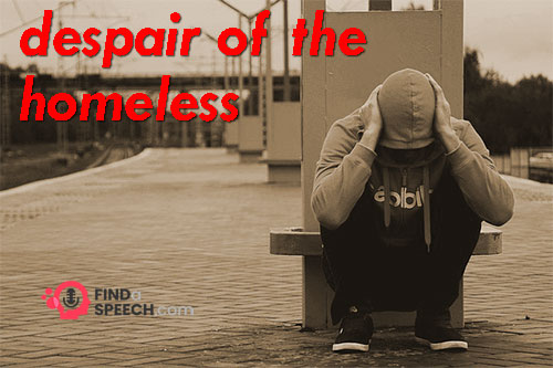 despair of the Homeless