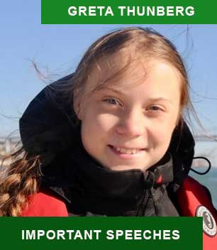 Greta Thunberg's Most Important Speeches
