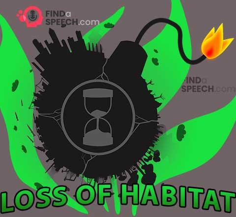 Loss of habitat
