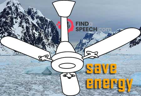 Ceiling fans are far more energy saving