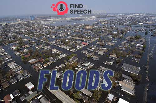 Speech on Floods