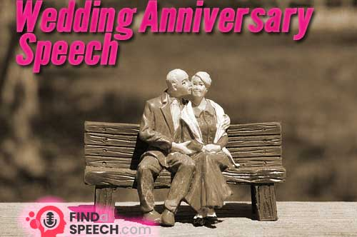 Wedding Anniversary Speech