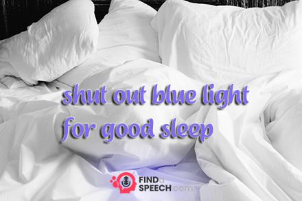 Speech on Importance of Good Sleep