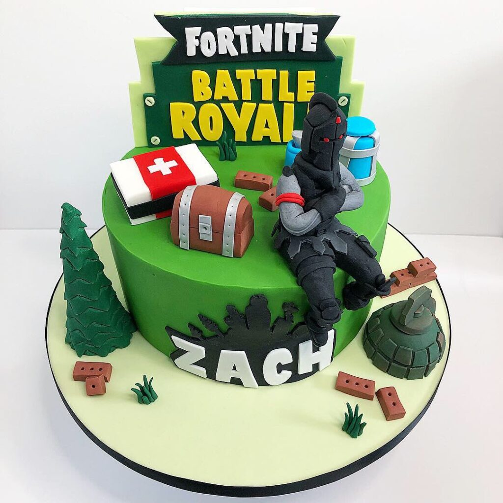 6 Fortnite Cake Ideas For A Birthday Party 2020 The Video Ink